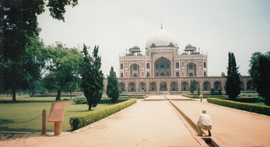 At Humayuns Tomb